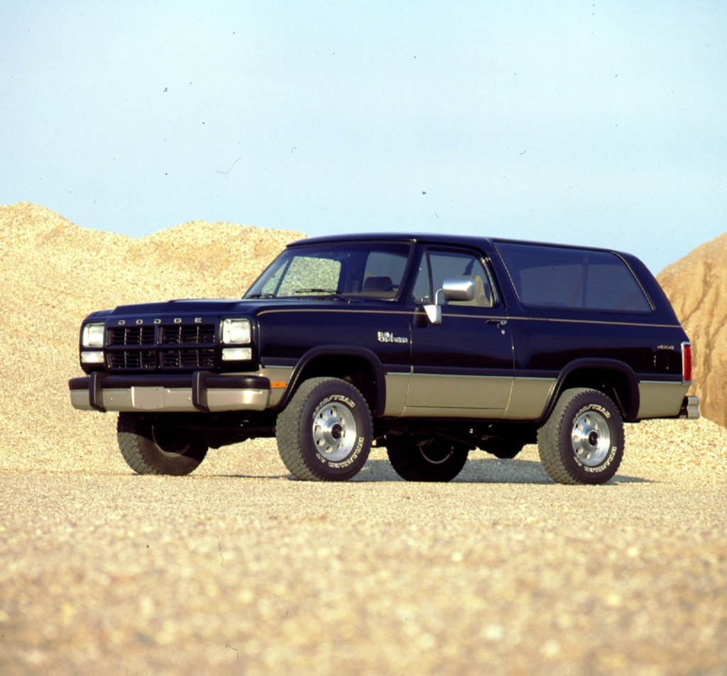 1993 Dodge Ramcharger Interior: These Are The Classic Cars Millennials Can't Get Enough Of