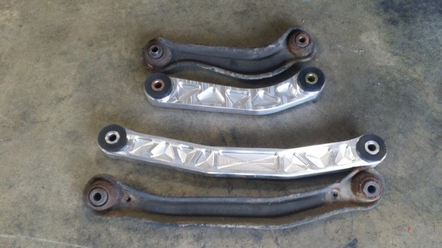 Cheddas Auto Rear Lower Control Arms | Micah Wright/Autos Cheat Sheet