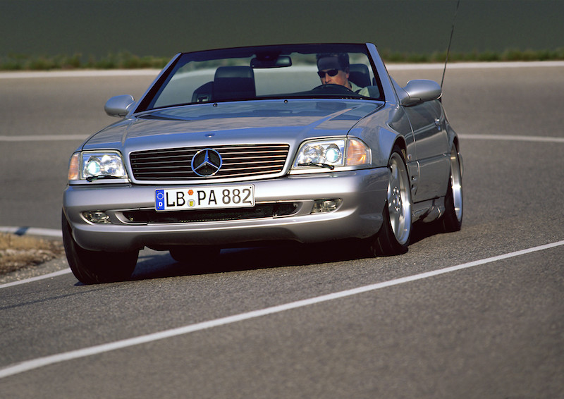 Mercedes-Benz supercar