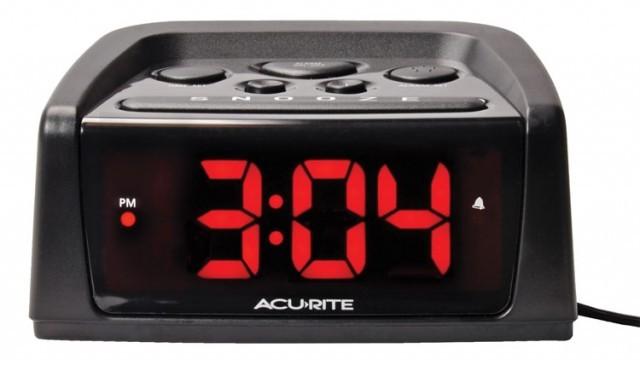 Acurite alarm clock