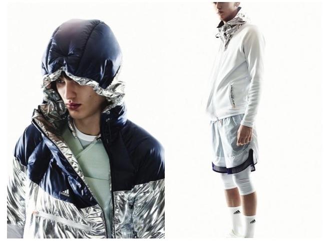 Adidas + Kolor sportswear activewear