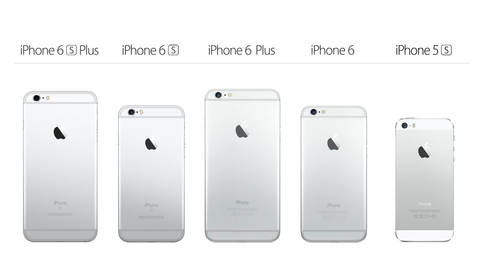 Apple's most recent iPhone models