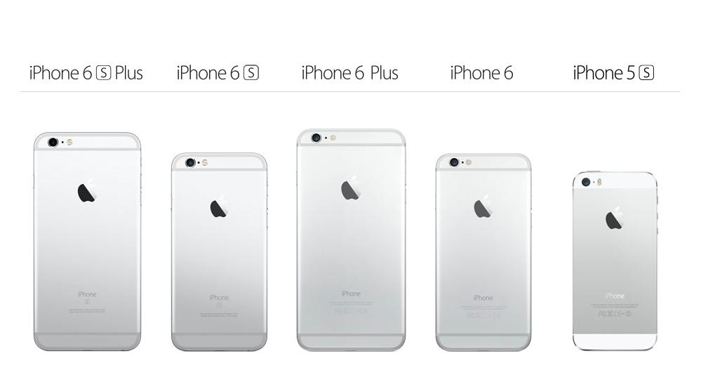 Apple's most recent iPhone models