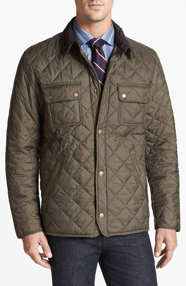 Barbour Tinford regular fit quilted jacket
