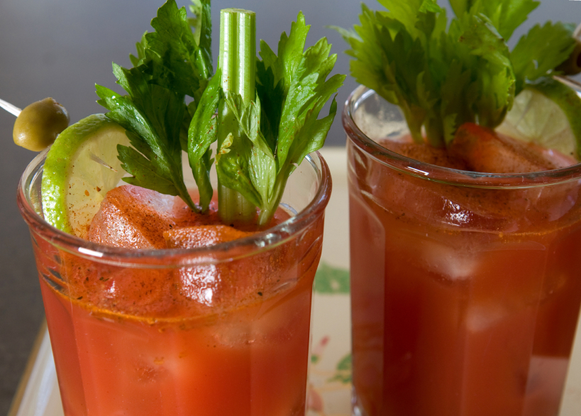 cocktail, bloody mary
