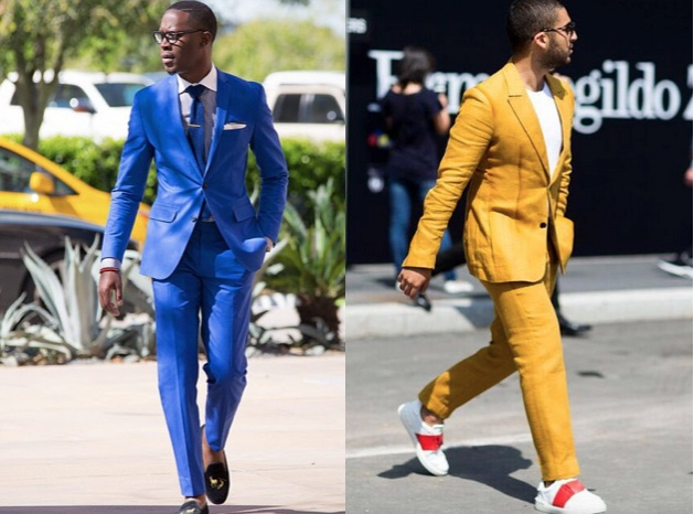 Bold Suits street style
