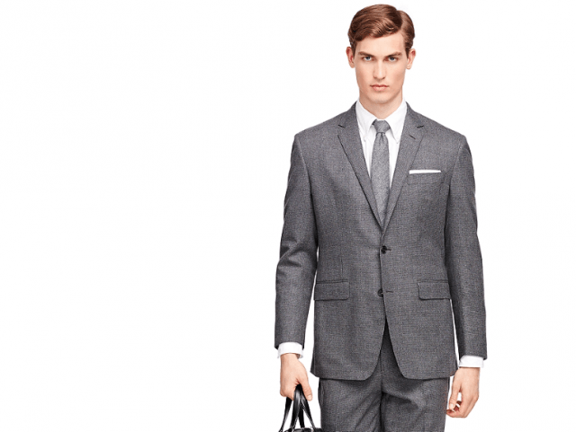 Brooks Brothers Black Fleece two-button suit