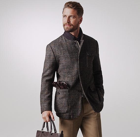 Brooks Brothers Harris Tweed hybrid jacket