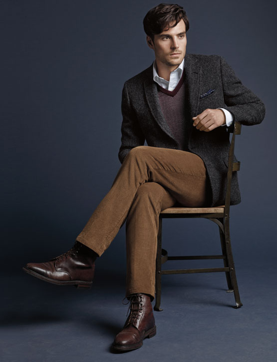 Brooks Brothers Harris Tweed sport coat