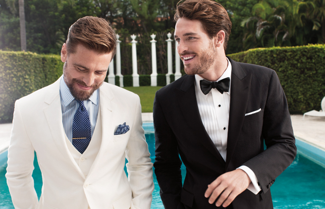 Brooks Brothers classic suiting and formalwear
