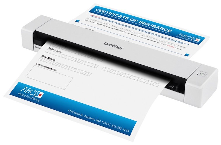Brother DS-620 Mobile Color Page Scanner