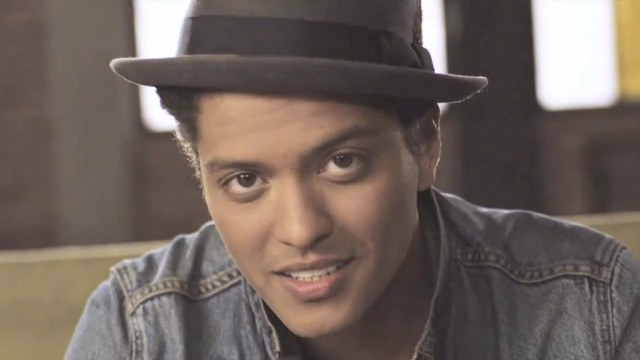"Bruno Mars in ""Just the Way You Are"""