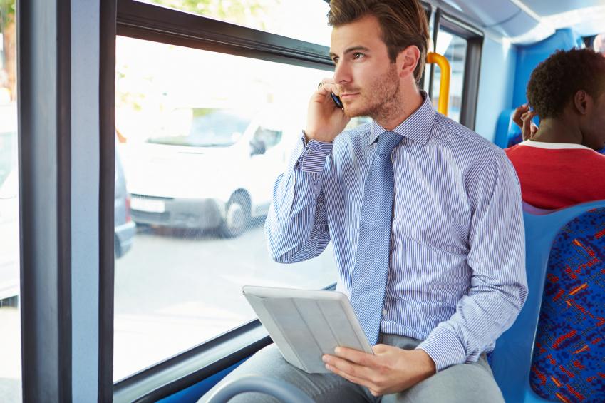 commute, train, phone