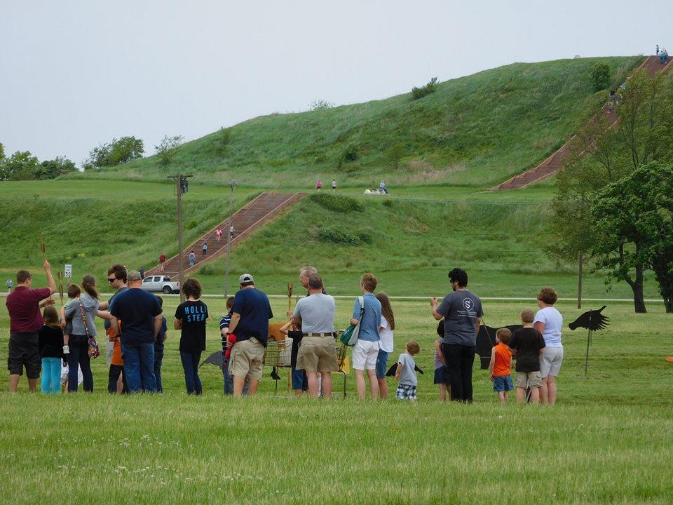 Fuente: Página oficial de Facebook de Cahokia Mounds Patrimonio de la Humanidad