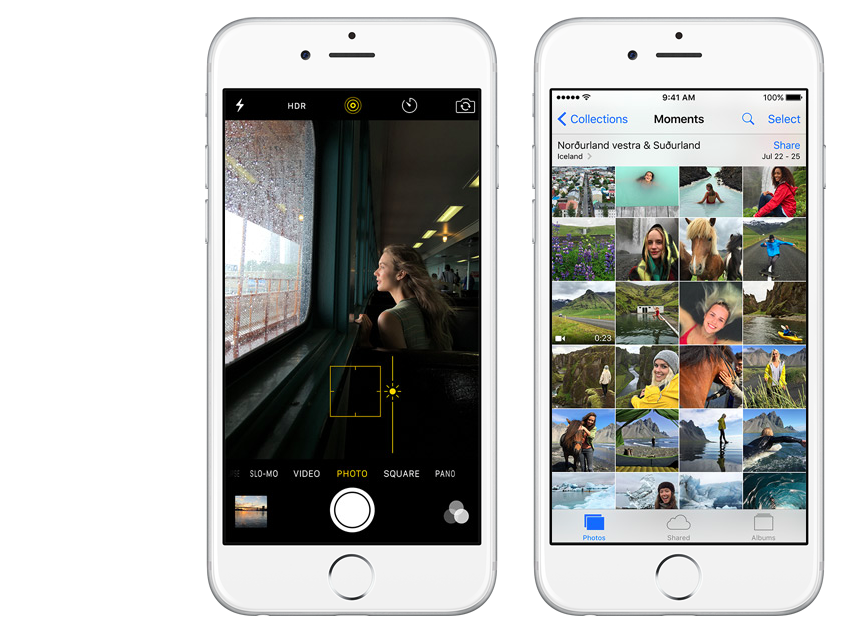 Apple improved the Camera and Photos apps in iOS 9, but could add new controls in iOS 10