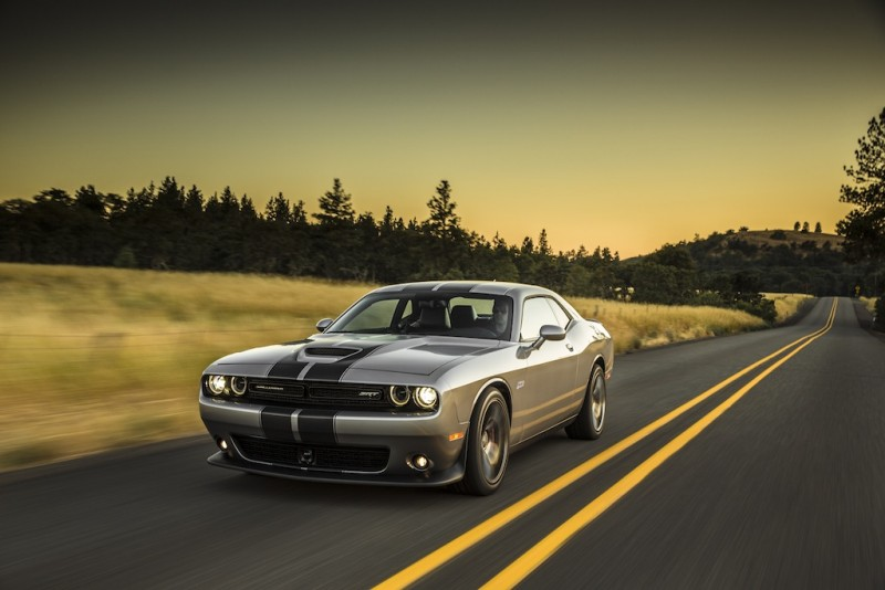 The Dodge Challenger SRT 392 offers some serious horsepower