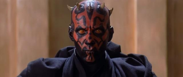 Darth maul in Star Wars The Phantom Menace