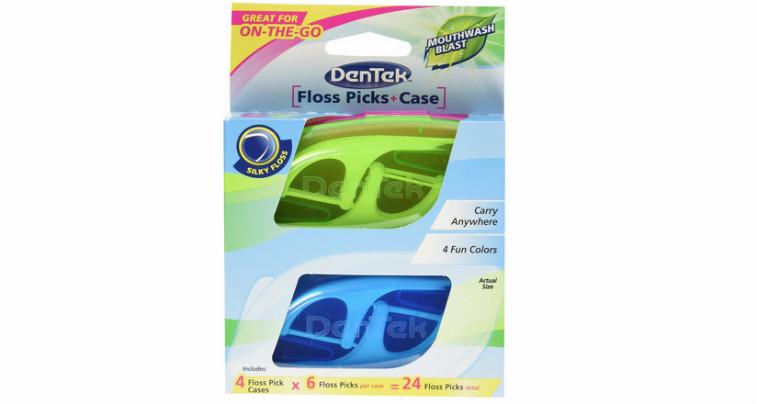 DenTek Travel Case with Flossers