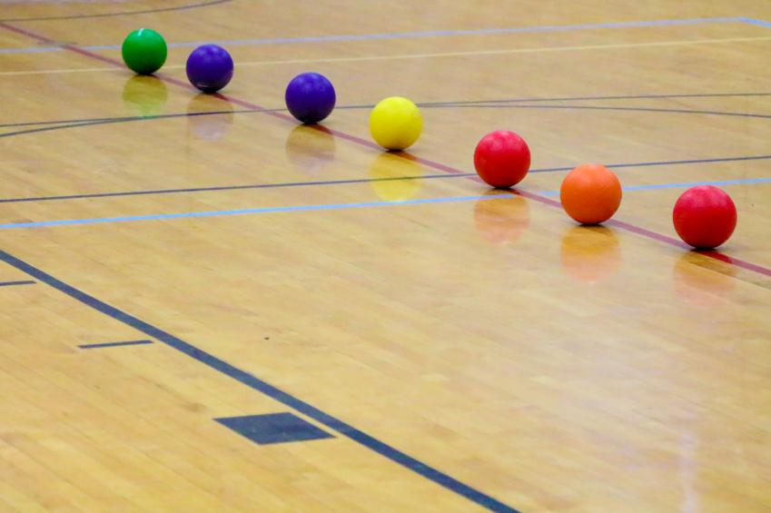 dodgeball, gym