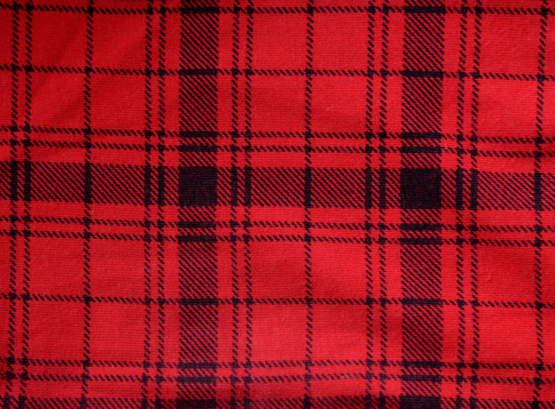 Fabric, flannel, clothes