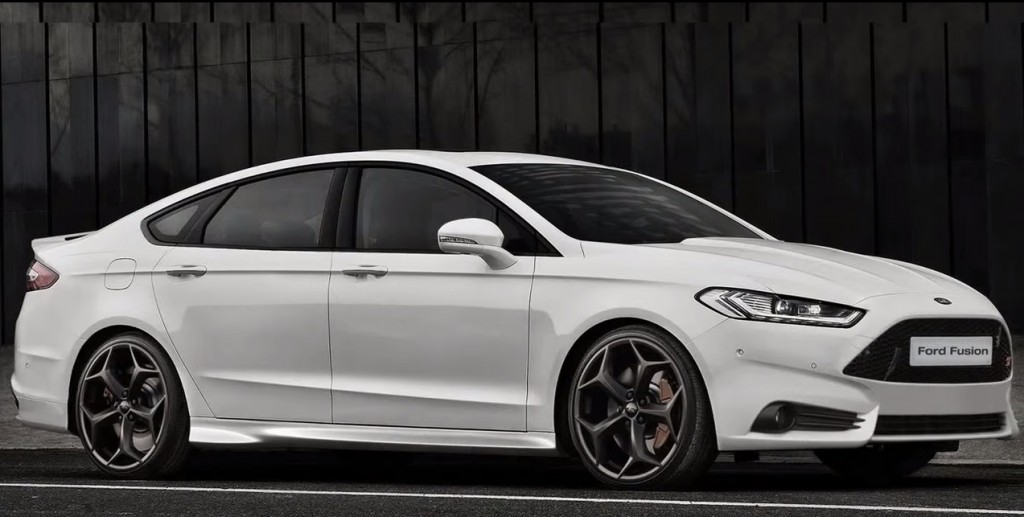 Ford Might Be Prepping An Awd St Badged Fusion Sedan