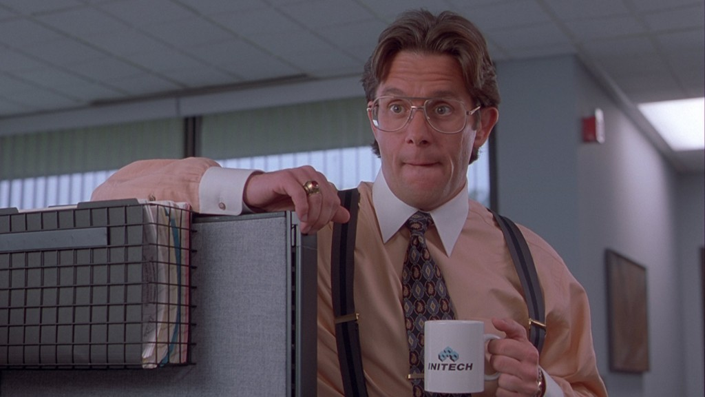 Gary Cole in 'Office Space'
