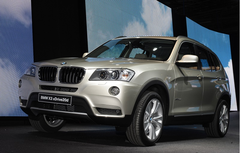 A picture shows the BMW X3 xDrive20d mod