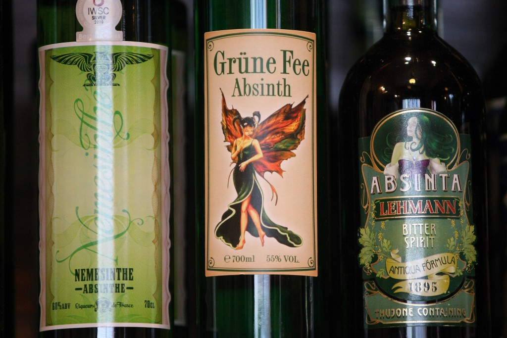 You can't bring absinthe back from overseas