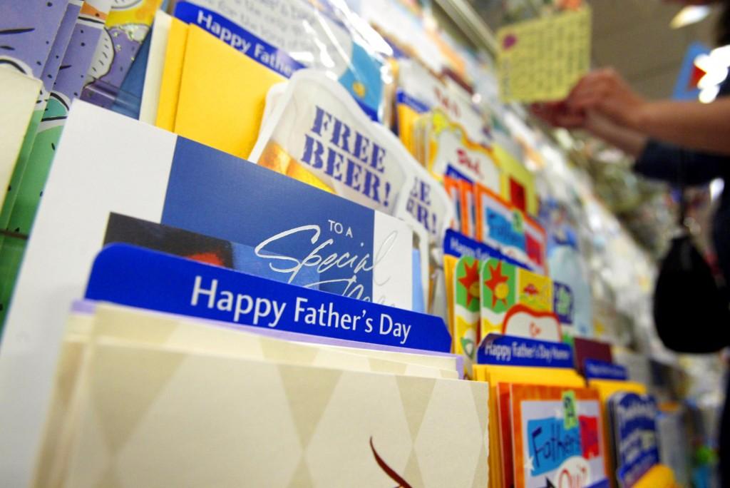greeting card aisle