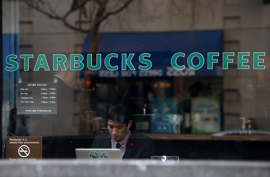 coffee shop, laptop