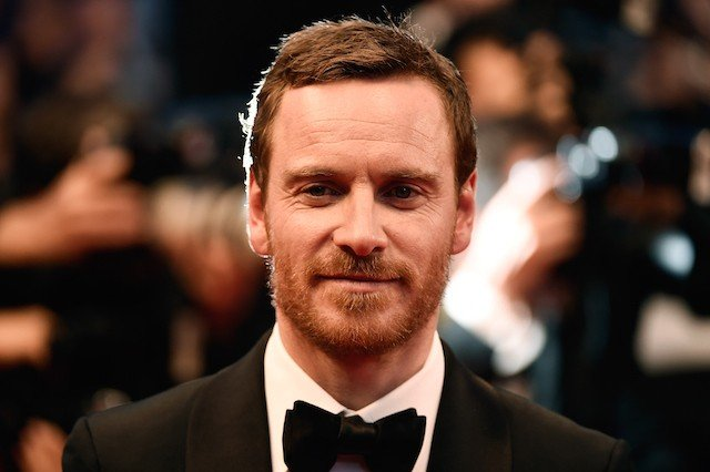 Michael Fassbender walks the red carpet
