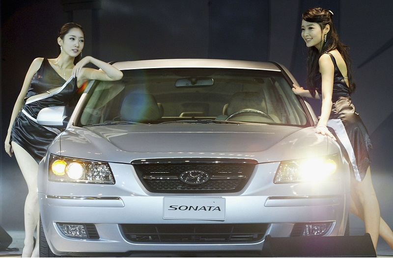 Hyundai Unveil The New NF Sonata