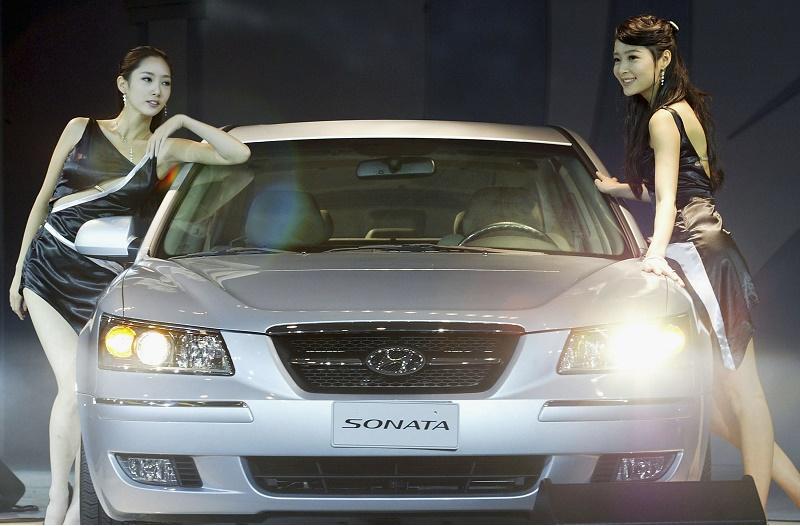 Hyundai Unveil The New NF Sonata