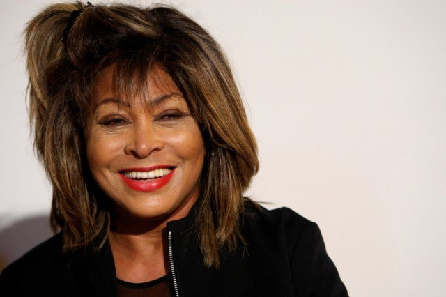 Tina Turner Smiling
