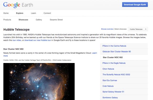 Google Search 'I'm feeling stellar'