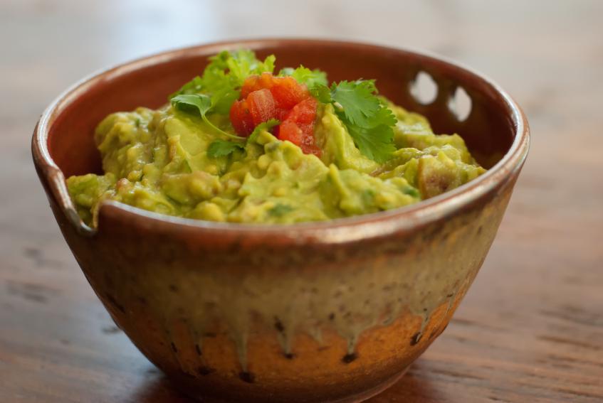 guacamole, avocado