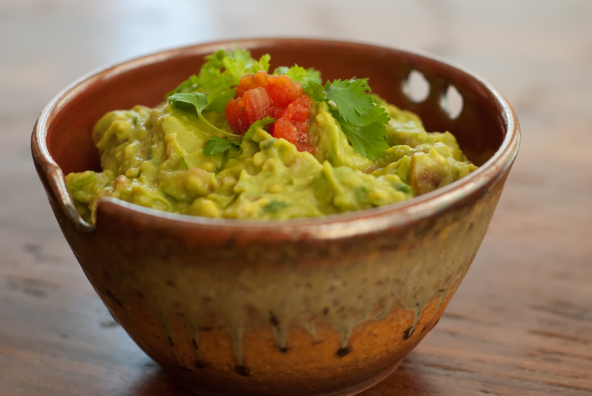 guacamole, avocado