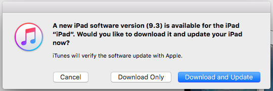 How to install an iPhone update via iTunes -- new software version