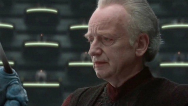 Ian McDiarmid in 'Attack of the Clones'