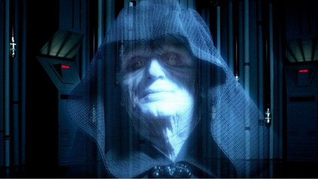 Ian McDiarmid in Star Wars: The Empire Strikes Back