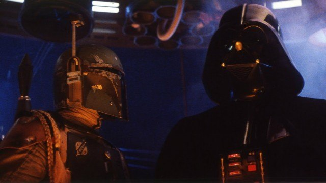 Jeremy Bulloch and David Prowse in Star Wars: The Empire Strikes Back