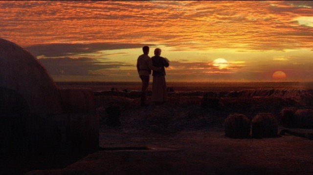 Joel Edgerton and Bonnie Piesse in 'Revenge of the Sith'