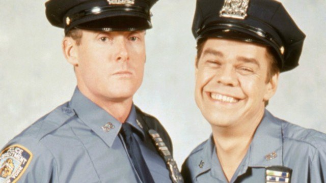 John C McGinley and David Johansen in 'Car 54, Where Are You?'