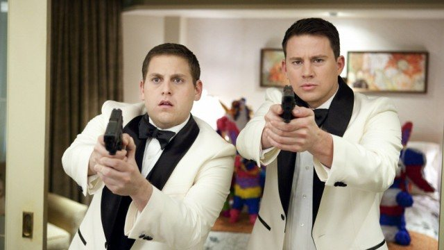 Jonah Hill and Channing Tatum in '21 Jump Street'