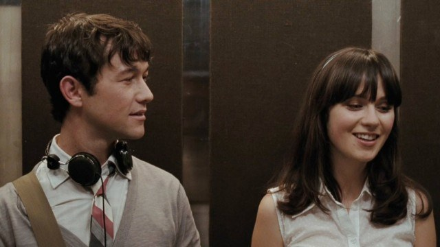 Joseph Gordon-Levitt and Zooey Deschanel in 500 Days of Summer