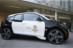 What Can Pricey Tesla and BMW Electric Vehicles Teach the LAPD?