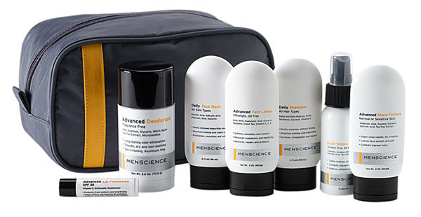 MenScience Travel & Skincare Kit