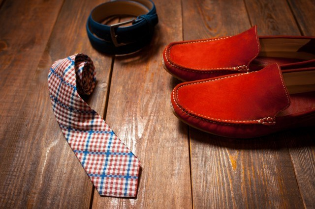 Man's shoes and accessories
