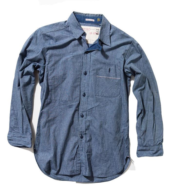 Mister Freedom utility chambray shirt