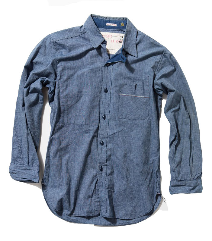 Mister Freedom utility chambray shirt